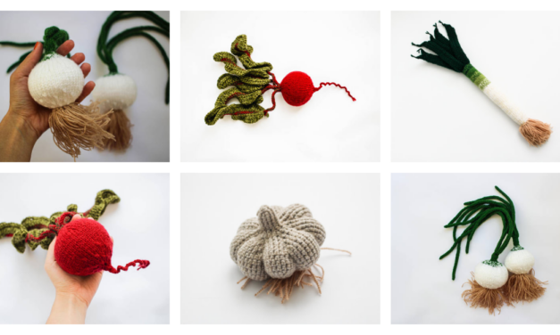 Knit & Crochet Vegetables! These Waldorf Toys Take Play Food To The Next Level