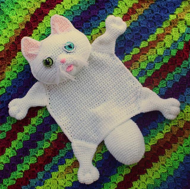 White Persian Kitty Buddy