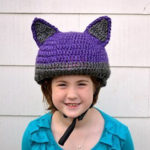 Smart Gift Giving: Crochet a Cat-Inspired Reflective Bike Helmet Cover – FREE Pattern!