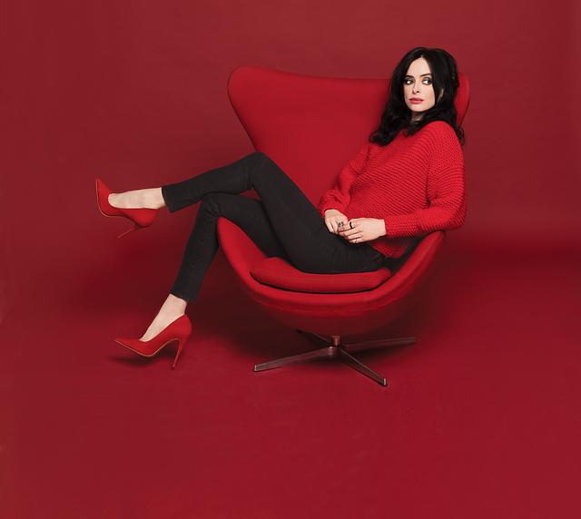 Knit the Sizzling Sweater Krysten Ritter Wears in the Latest Issue