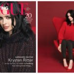 Knit the Sizzling Sweater Krysten Ritter Wears in the Latest Issue of Vogue Knitting Magazine