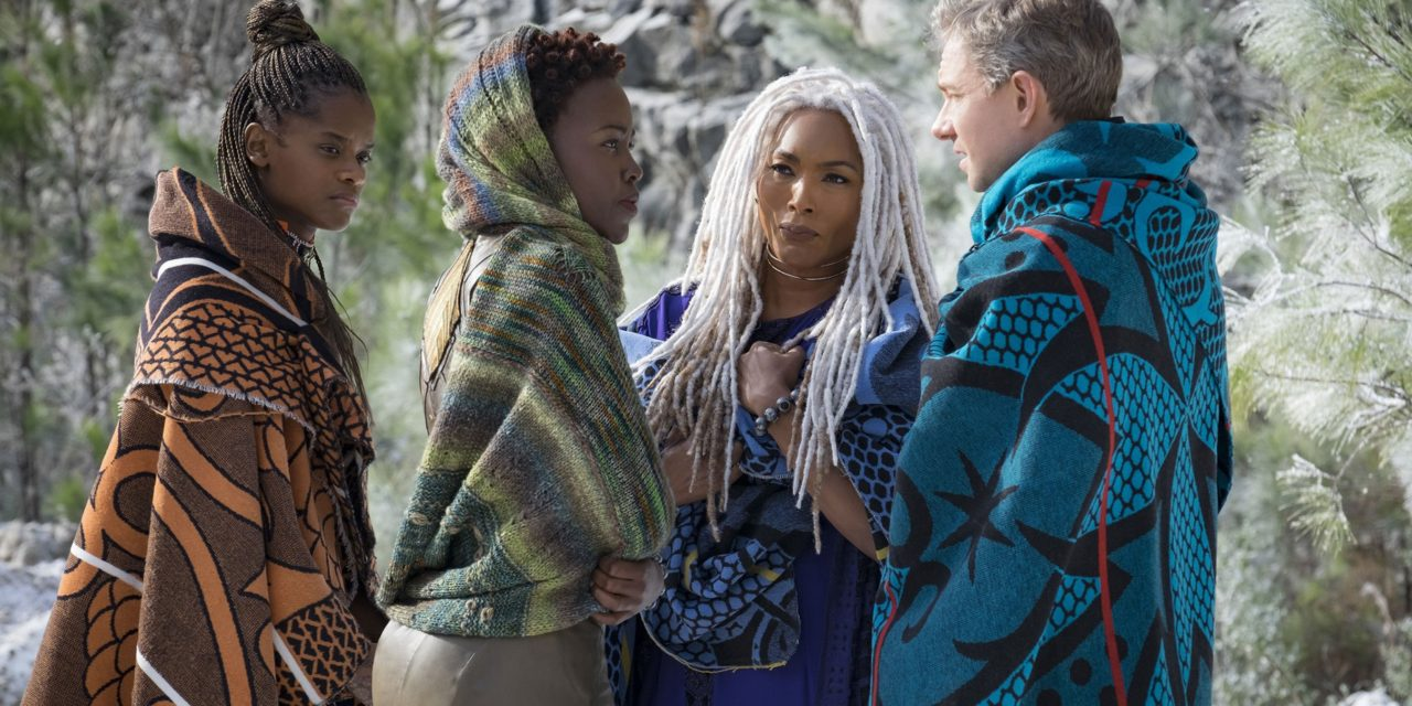 Hey Black Panther Fans … Knit Nakia's Beautiful Shawl