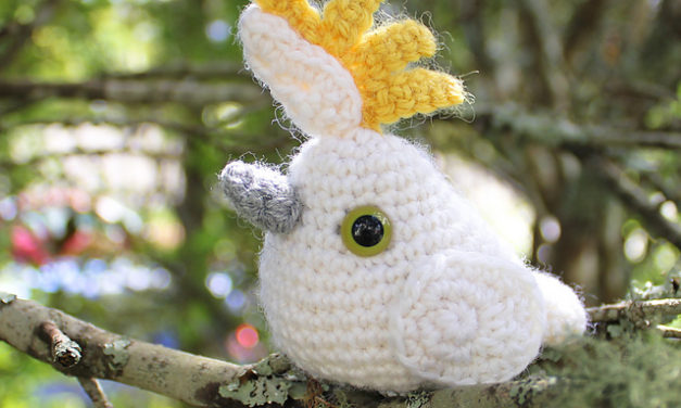 Annette's Cute Crochet Cockatoo – You Can Make One Too, Get The Free Pattern!