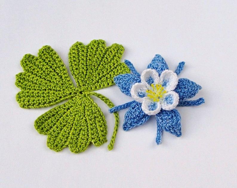 Get the flower pattern, designed by Beth Herman #crochet