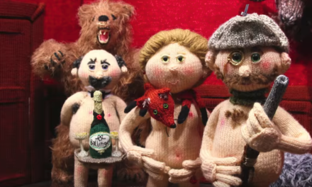 "Watch Knitted Nudinits Animation ""Tickled Pink"" … It's Bursting With Britishness and Bare Bottoms Too!"