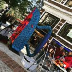 Flatiron Yarn Bomb Spotted in Asheville, North Carolina