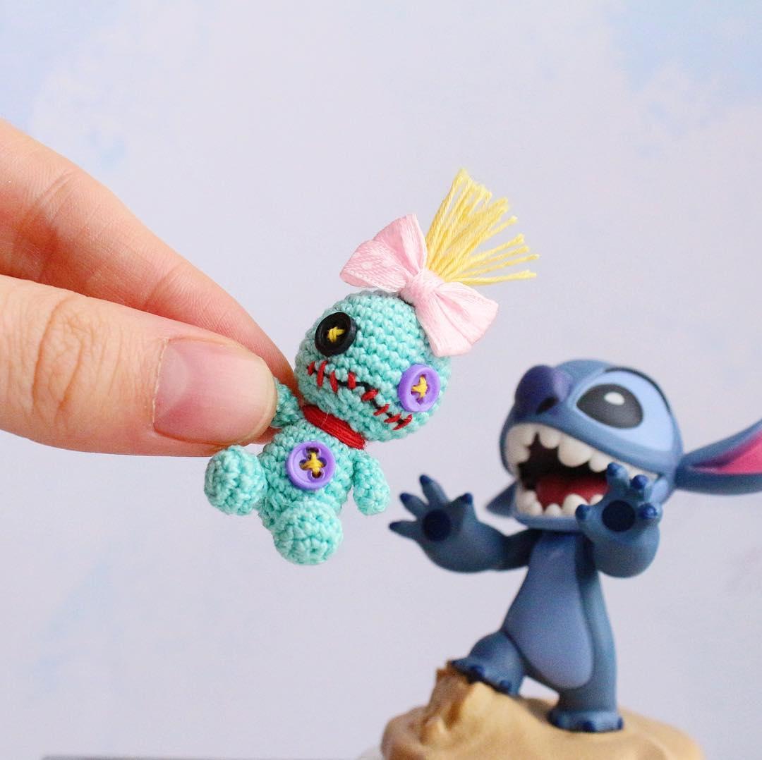 Zombie, Zombie, Zombie, Zombie, Zombie, Starts With Z ... Miniature Zombie Amigurumi