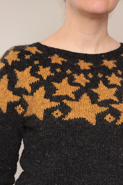 I See Stars! My New Favorite Sweater is Bright Above Me … Get the Pattern!