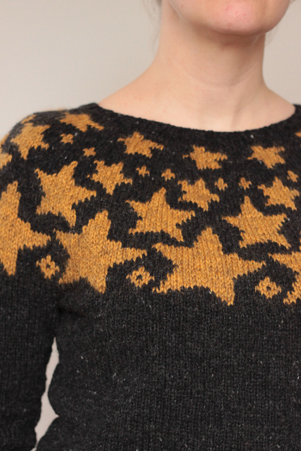 I See Stars! My New Favorite Sweater is Bright Above Me ... Get the Pattern!