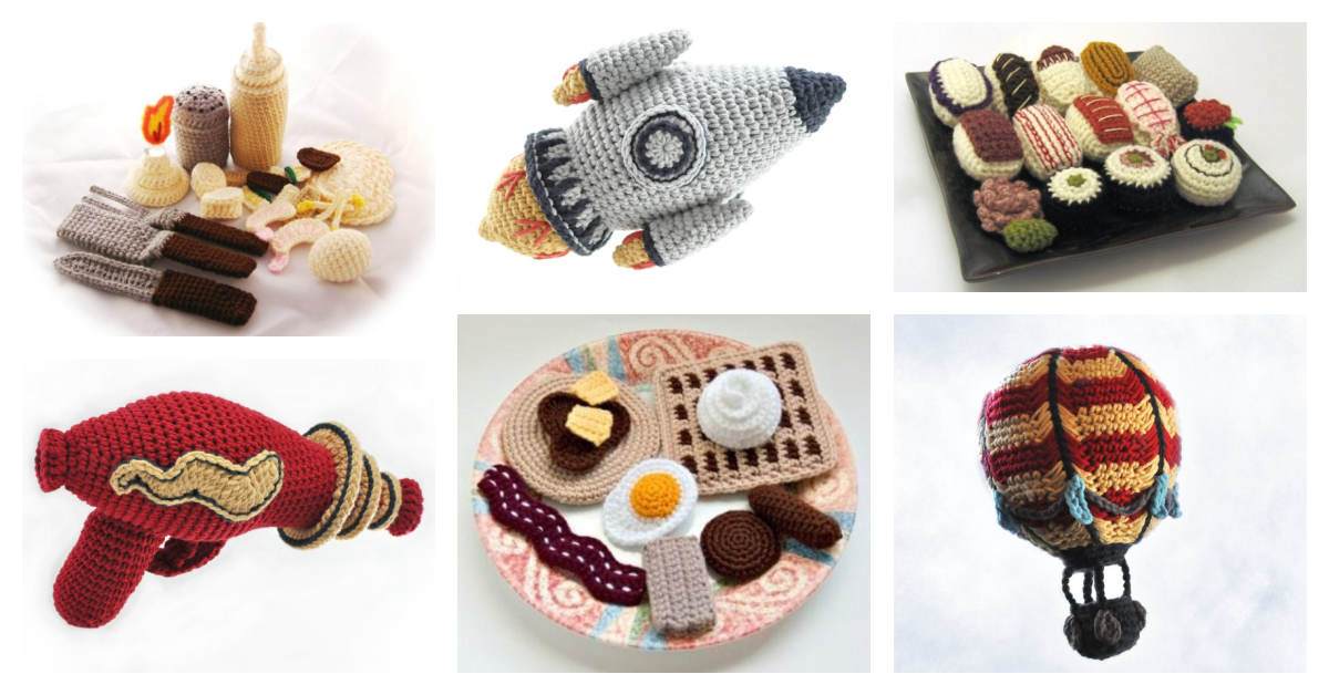 Designer Spotlight: Knit & Crochet Amigurumi Awesomeness By NeedleNoodles