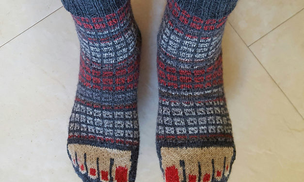 The Secret in My Shoes Sock – Hilarious and the Pattern is Free! I See Toes!