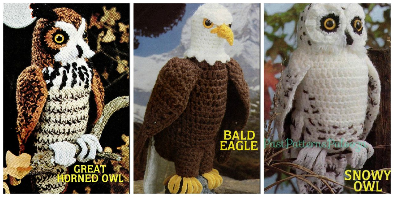 Amigurumi Lovers, This Collection of Vintage Crochet Bird Patterns is For You!