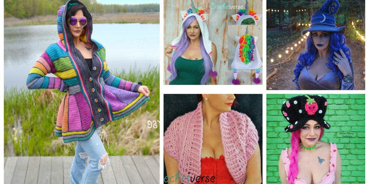 Designer Spotlight: Crochet Designs By Stephanie Pokorny of Crochetverse