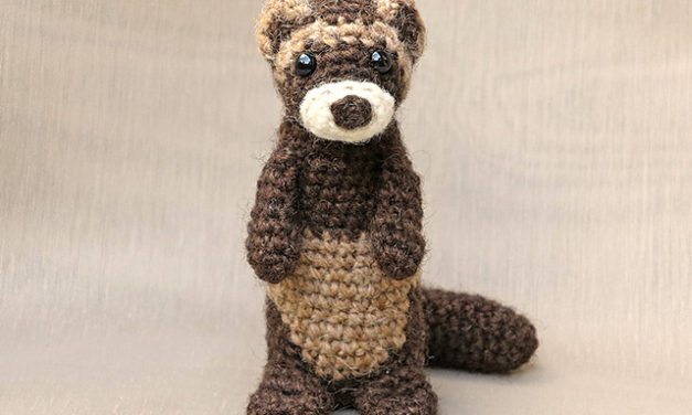 Love Ferrets? Great! Here Are 8 First-Rate Knit & Crochet Patterns For Fans of Ferrets