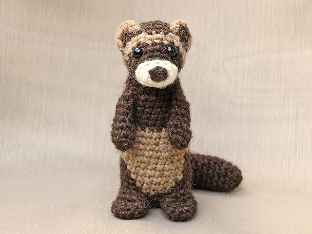 Love Ferrets Great Here Are 8 First Rate Knit Crochet Patterns