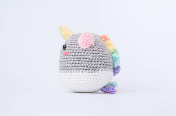 Phat the Rainbow Unicorn Amigurumi – Crochet the Perfect Gift For Pride!