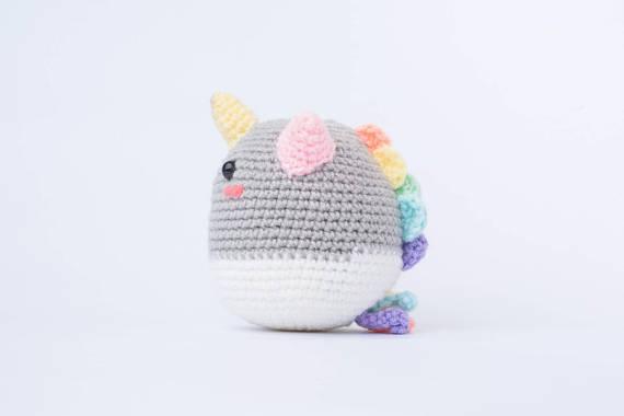 Phat the Rainbow Unicorn Amigurumi – Crochet the Perfect Gift For Pride!