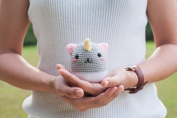 Phat the Rainbow Unicorn Amigurumi - Crochet the Perfect Gift For Pride!