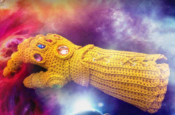 Crochet The Internet-Famous Infinity Gauntlet Designed By AmigurumiBarmy – Perfect For Thanos Cosplay