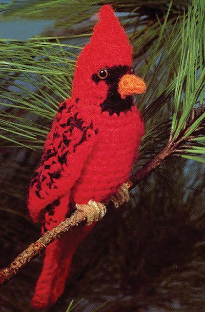 Cardinal - Get This Vintage Bird Pattern