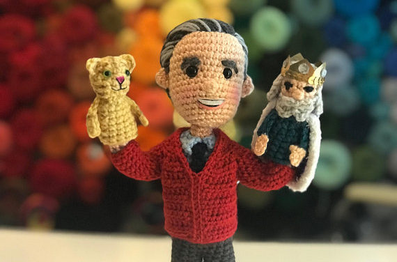 Mr. Rogers Amigurumi Pattern By CraftyIsCool – It's So Lifelike!