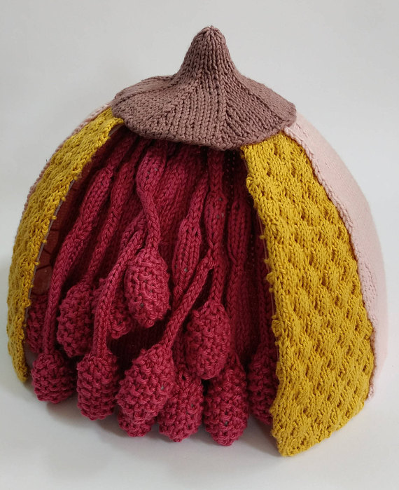 Knit An Anatomical Model of a Breast - Get the Pattern For This Detailed Educational Tool