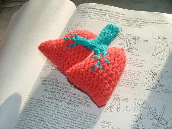 Realistic Crochet Lungs Pattern