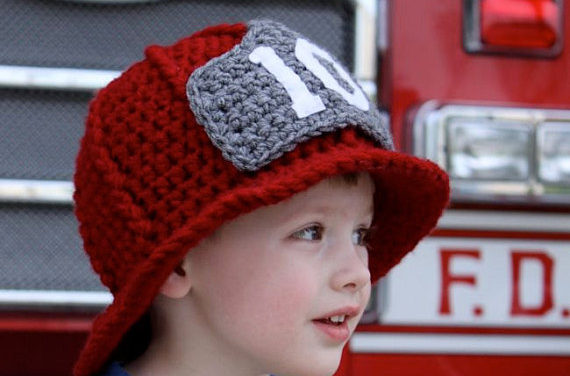 Crochet an Adorable Firefighter Helmet – Perfect DIY For the Budding Cosplayer
