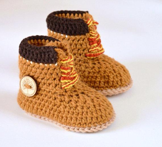 Baby Timberland Boots Pattern