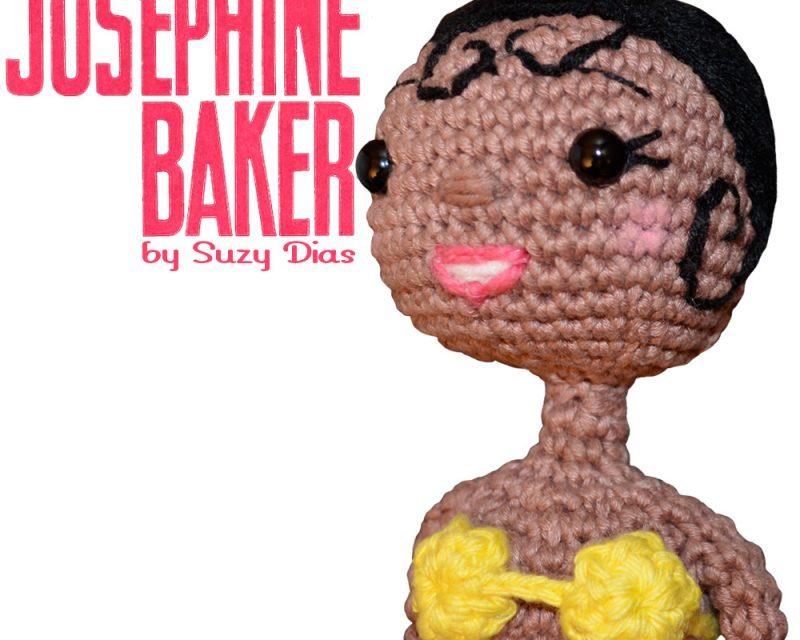 Crochet Josephine Baker Amigurumi By Suzy Dias – WOW!