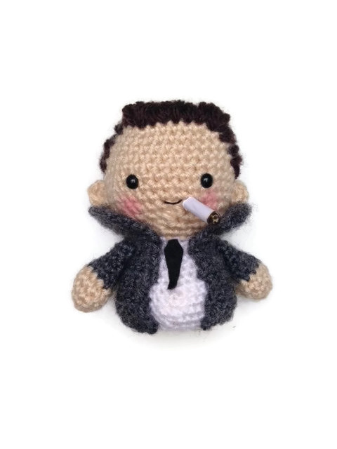 She Crocheted an Albert Camus Amigurumi