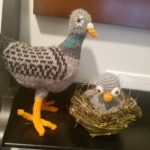 Doin' The Pigeon … Knit and Crochet Pigeons As Gifts? Yes, Please!