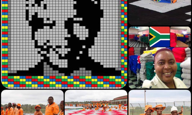 This Graphgan Is So Big, You Can Only See The Whole Thing From Outer Space … It's the Largest Portrait Blanket in the World!