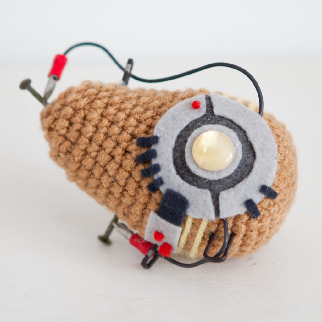 Sure, You've Heard of Hot Potato ... How About 'Bot' Potato? Amigurumi Style!