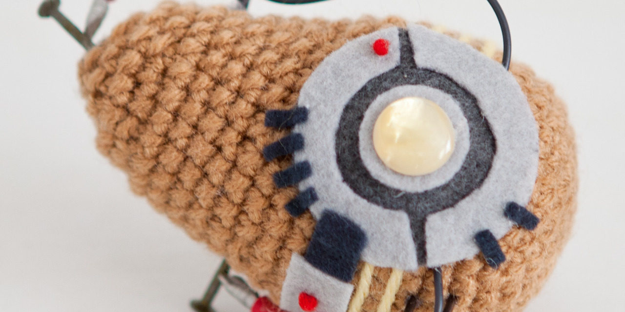 Sure, You've Heard of Hot Potato … How About 'Bot' Potato? Amigurumi Style!