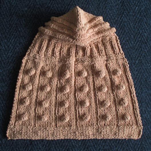 Knit a Dalek-Themed Baby Blanket ... It Has a Hood and the Pattern is FREE!