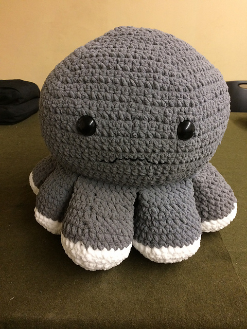 Crochet a Giant, Squishy, Octopus ... get the pattern