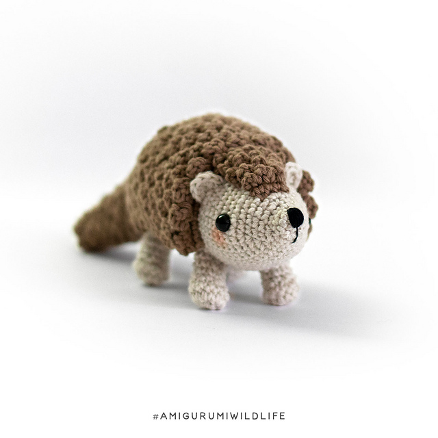 Need a Unique Handmade Gift? How About a Knit of Crochet Pangolin?