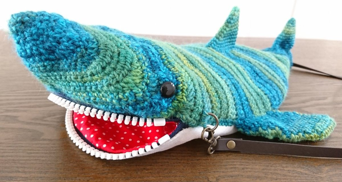 This Crochet Shark Purse Is Just Jawsome!