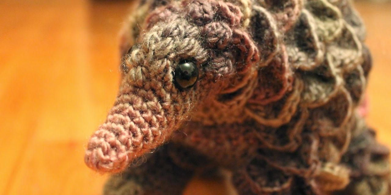 Need a Unique Handmade Gift? How About a Crochet Pangolin?