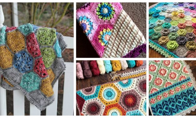 Designer Spotlight: Unique and Colorful Crochet Blanket Patterns Designed By CypressTextiles