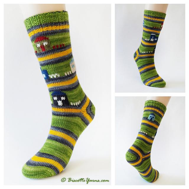 Free Sock Pattern - Saint-Élie-de-Caxton