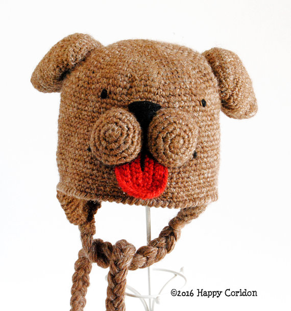Super Magic Dog Hat - Get the Pattern From HappyCoridon