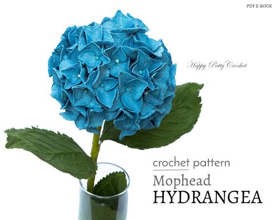 Crochet Flower Patterns by Happy Patty Crochet