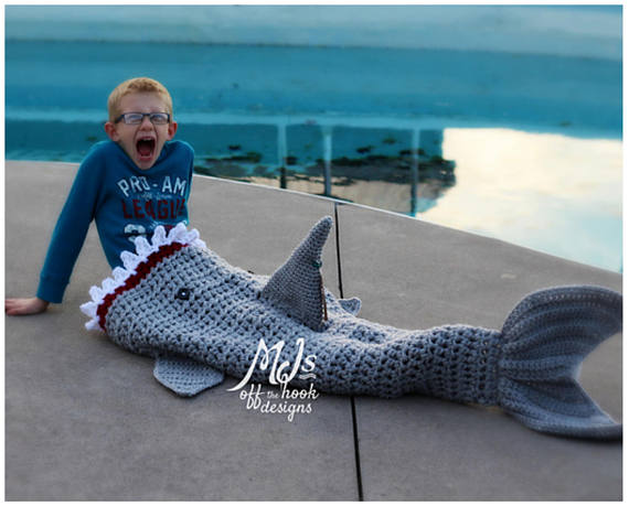 More Shark Themed Knit & Crochet - Get The Patterns!