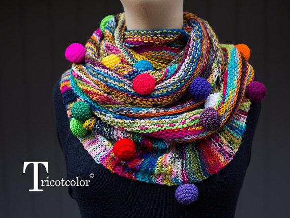 Three New Knit Pieces from Kaleidoscopic Knitwear Designer Hélène Seners aka Tricotcolor