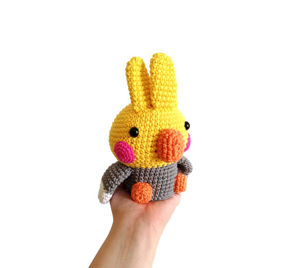 The Cutest Chubby Cockatiel Amigurumi - Get the Pattern!