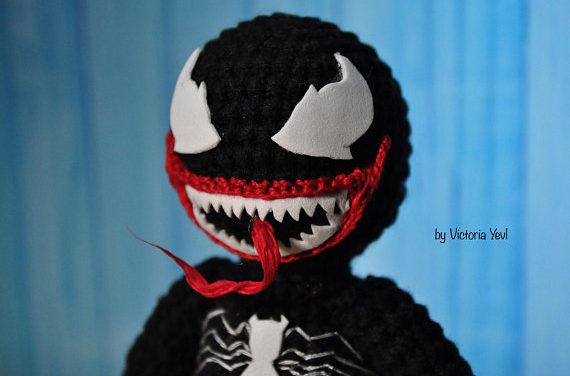 Victoria's Venom Amigurumi is Crochet Perfection!