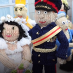 A Knitted Royal Wedding … I see Prince Harry, Meghan Markle … Can You Spot Elton John?