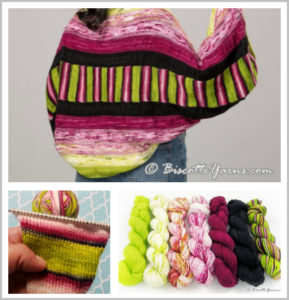 Cupcake Shrug Knitting Kit From Biscotte Yarns